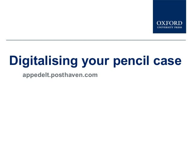 Digitalising your pencil caseappedelt.posthaven.com