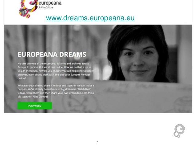 www.dreams.europeana.eu  1