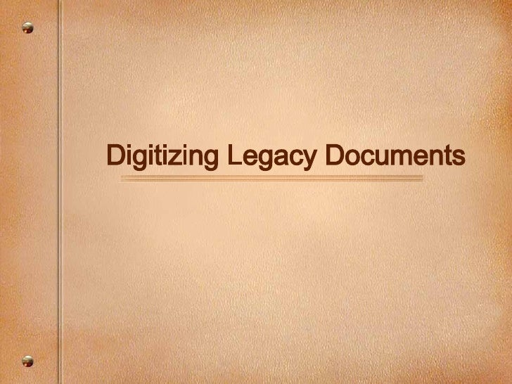 Digitization of Physical Assets