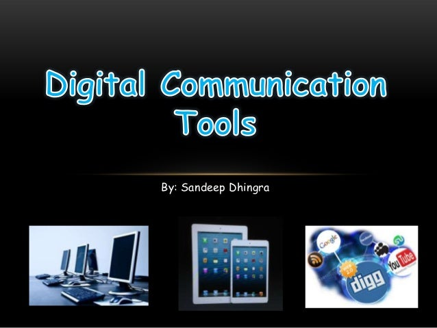 Recap of Digitial Communication Tools