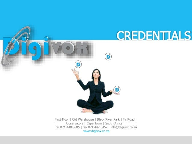 DigiVox Credentials