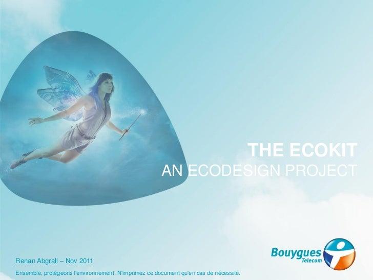 Digiworld  - Séminaire Green ITC - Présentation Bouygues Telecom