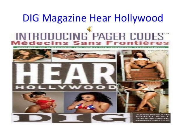 DIG Magazine Hear Hollywood