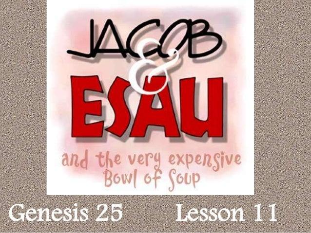 Genesis 25 Lesson 11