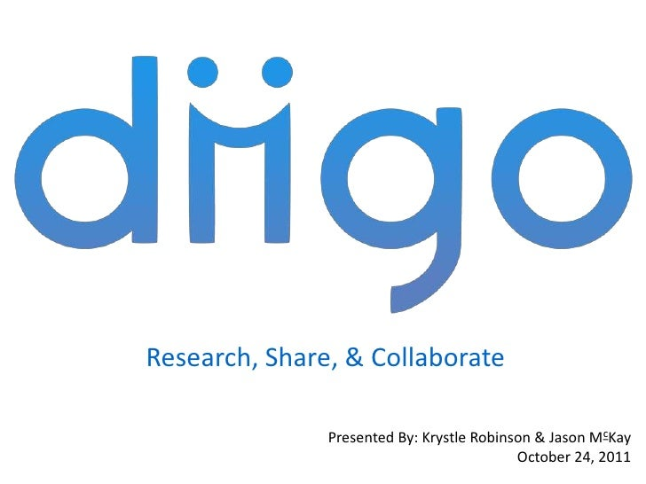 Research, Share, & Collaborate               Presented By: Krystle Robinson & Jason McKay                                 ...