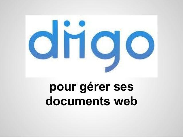 pour gérer ses documents web