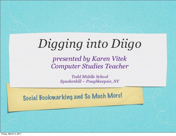 Digging into Diigo