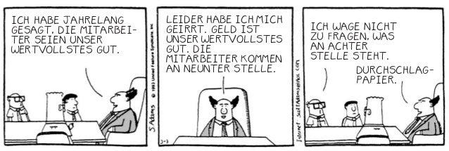 18 Best of Dilbert Sie werden feststellen, dass diese Technik die Verlautbarungen Ihrer Manager beträchtlich erhellt. Erla...