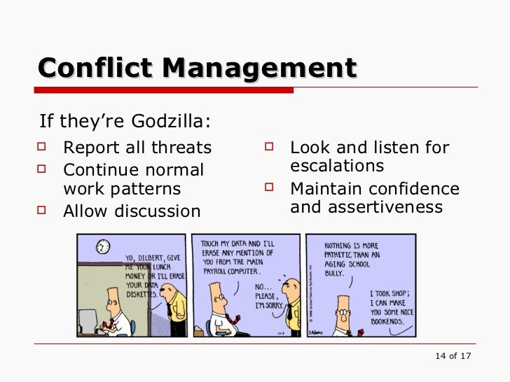 m3 14 managing conflict in the workplace