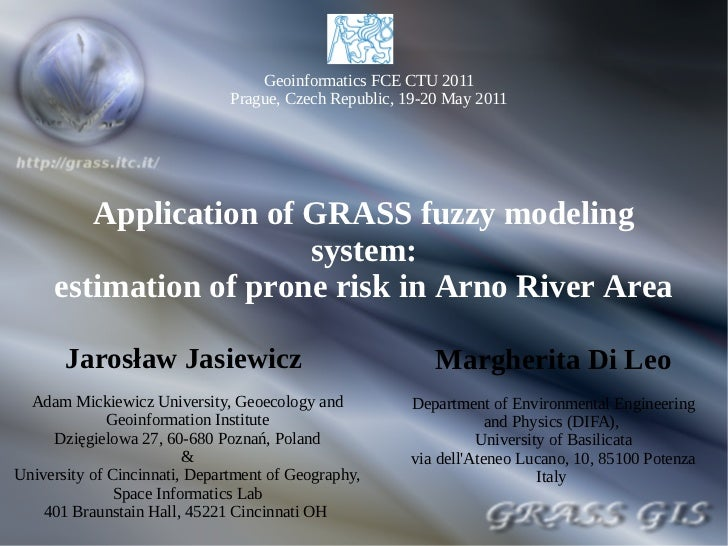 Geoinformatics FCE CTU 2011                               Prague, Czech Republic, 19-20 May 2011        Application of GRA...