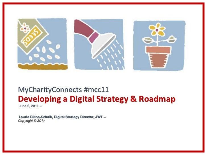 Laurie Dillon-Schalk - Developing a Digital Strategy & Roadmap