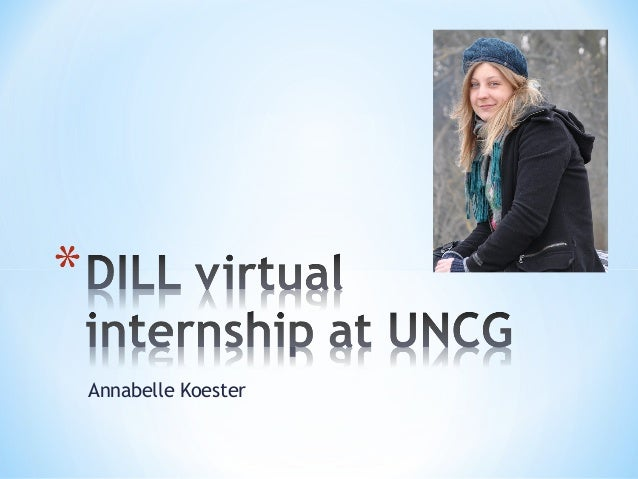DILL Virtual Internship at UNCG