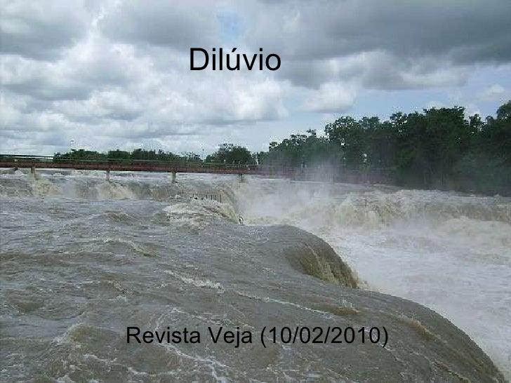 DilúVio (Aula Para Pd MatemáTica)