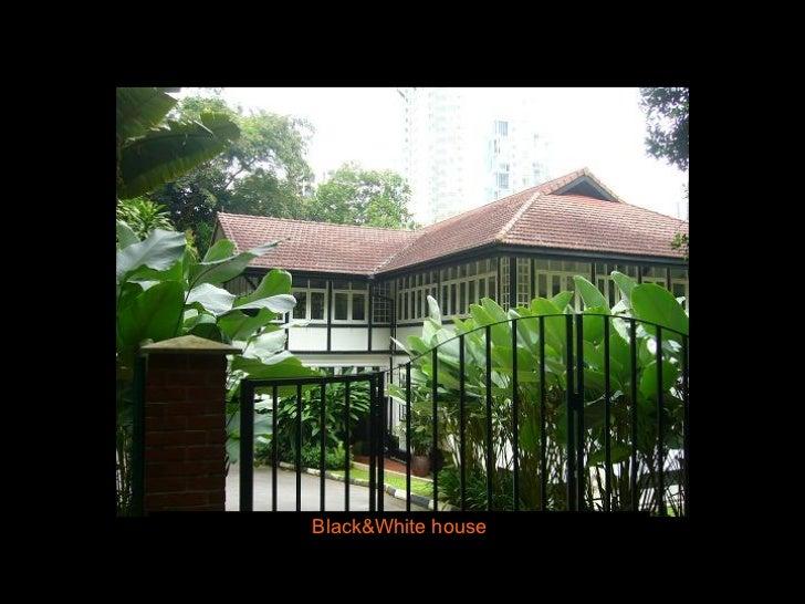 Black&White house