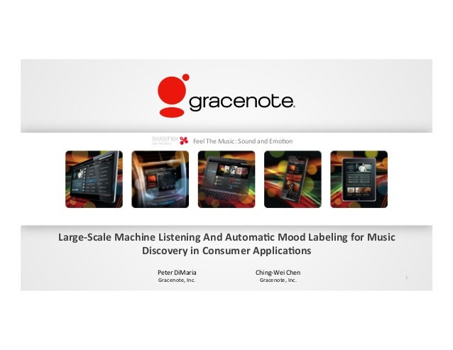 Gracenote: Music Navigation and Discovery