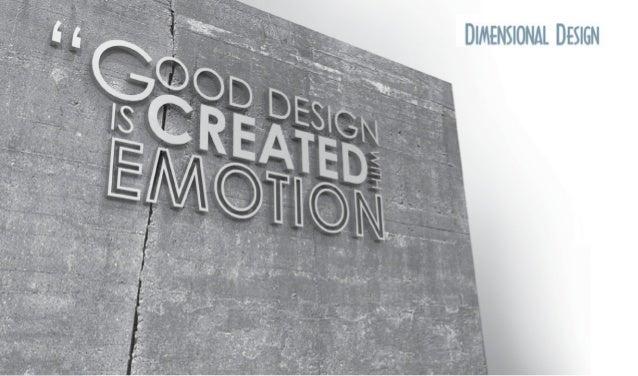 Dimensional Design Corporate Deck