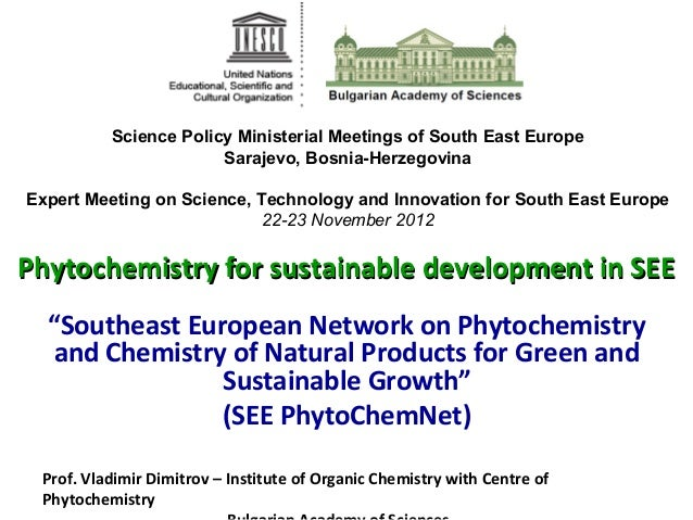 Science Policy Ministerial Meetings of South East Europe                       Sarajevo, Bosnia-HerzegovinaExpert Meeting ...