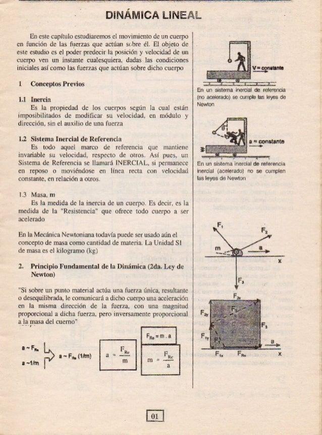 , .  u- m. .. .  ax  -  En este capítulo estudiaremos el movimiento de un cuerpo cn función de las fuerzas que actúan sobr...