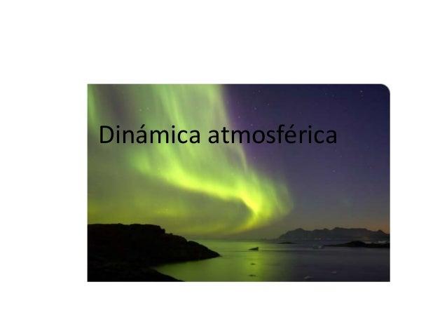 Dinámica atmosférica