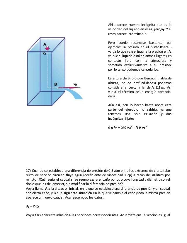 Dinamica de fluidos for Porque gotea la regadera