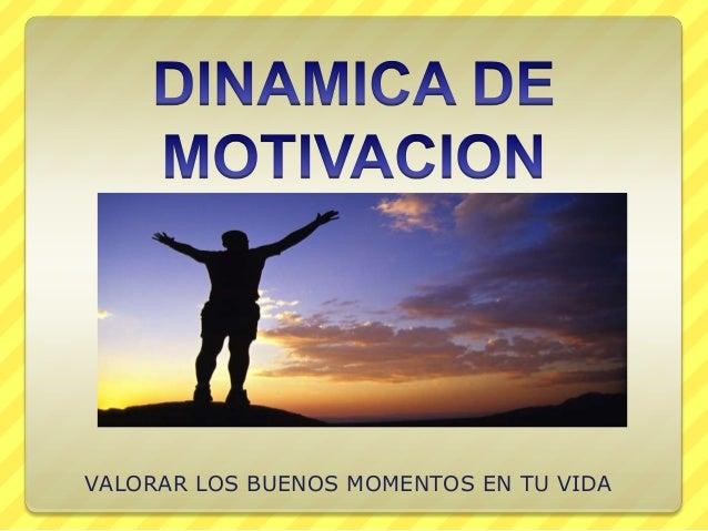 Dinamica de motivacion