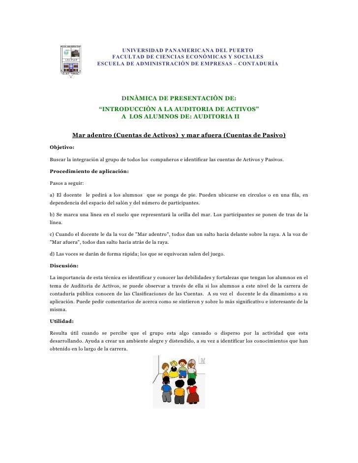 UNIVERSIDAD PANAMERICANA DEL PUERTO                         FACULTAD DE CIENCIAS ECONÓMICAS Y SOCIALES                    ...
