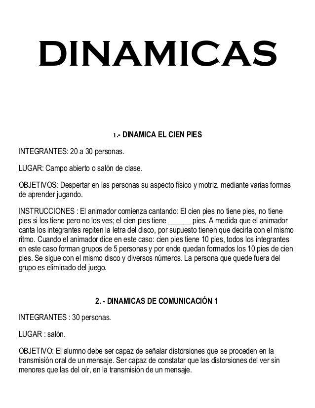 Dinamicas