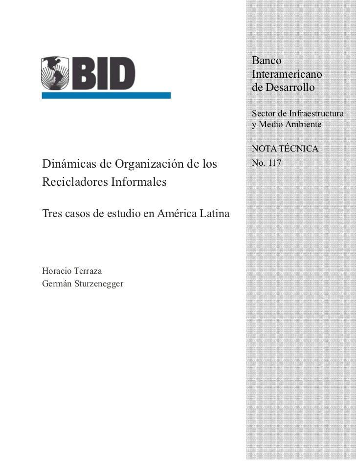 Dinamicas de  organizacion latinoamerica