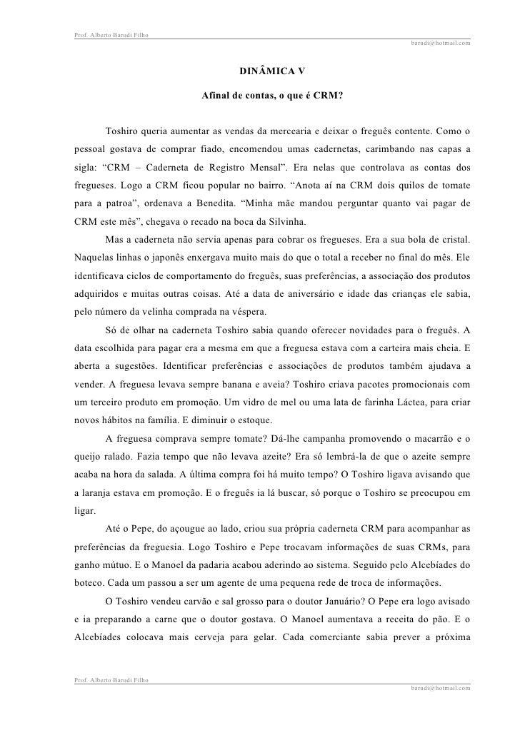 Prof. Alberto Barudi Filho                                                                                   barudi@hotmai...
