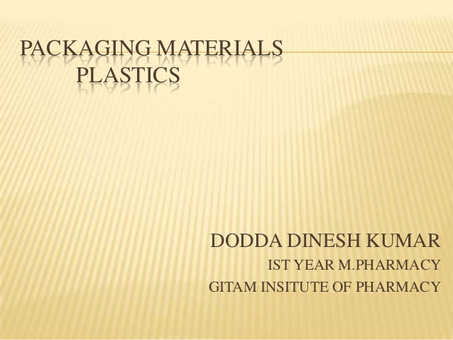PACKAGING PLASTIC MANUFACTURE