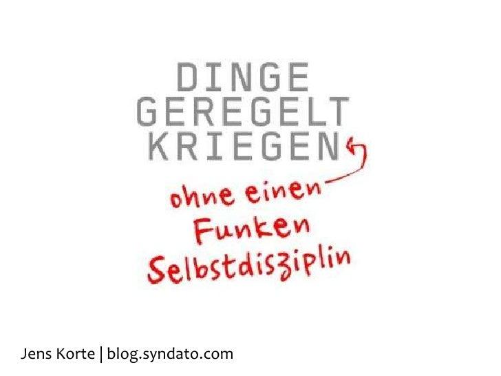 Jens Korte | www.syndato.com<br />