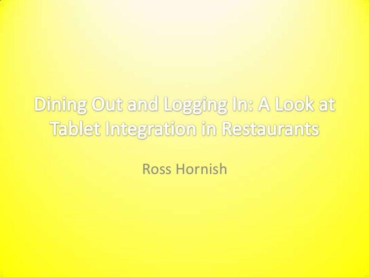 Ross Hornish