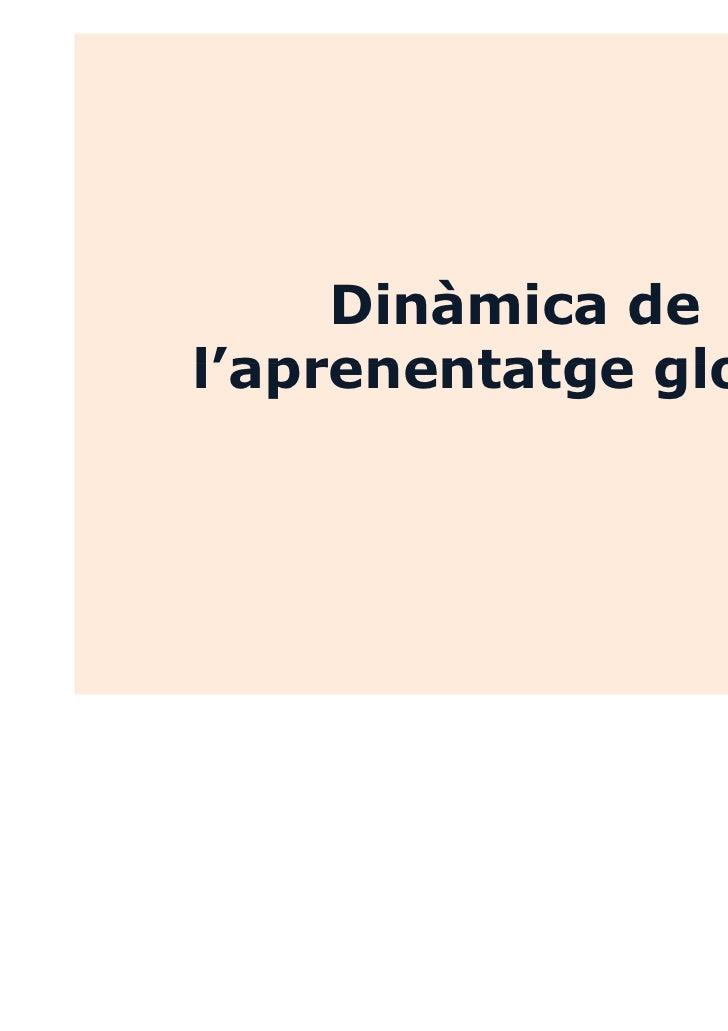 Dinàmica de l'aprenentatge global