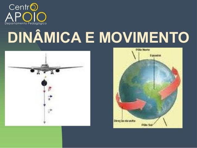 www.AulasParticularesApoio.Com - Física -  Dinâmica e Movimento