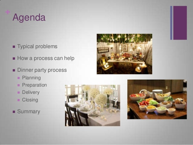 how to plan a party process