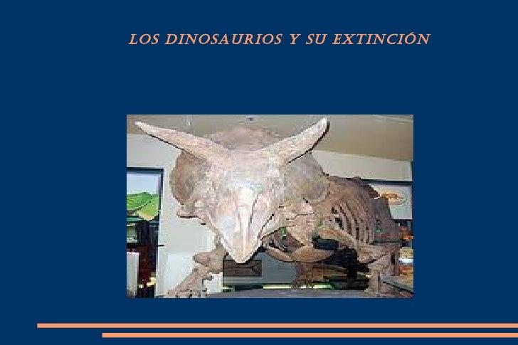 Conferencia de Christian. Los dinosaurios
