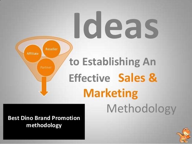 Dino seo - Sales & Marketing Methodology