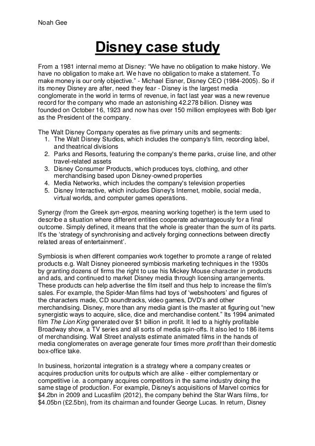 walt disney term papers The walt disney company is a well known enterta  go businesss research  papers (20,108)  management (6,216)  essay by ladyheart143, october 2008.
