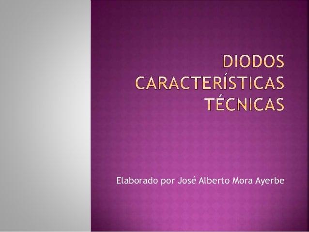 Elaborado por José Alberto Mora Ayerbe