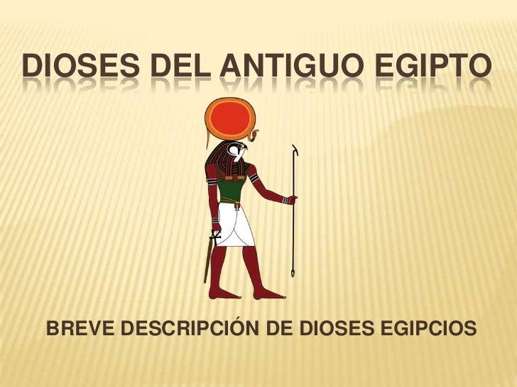 Dioses del antiguo egipto 01