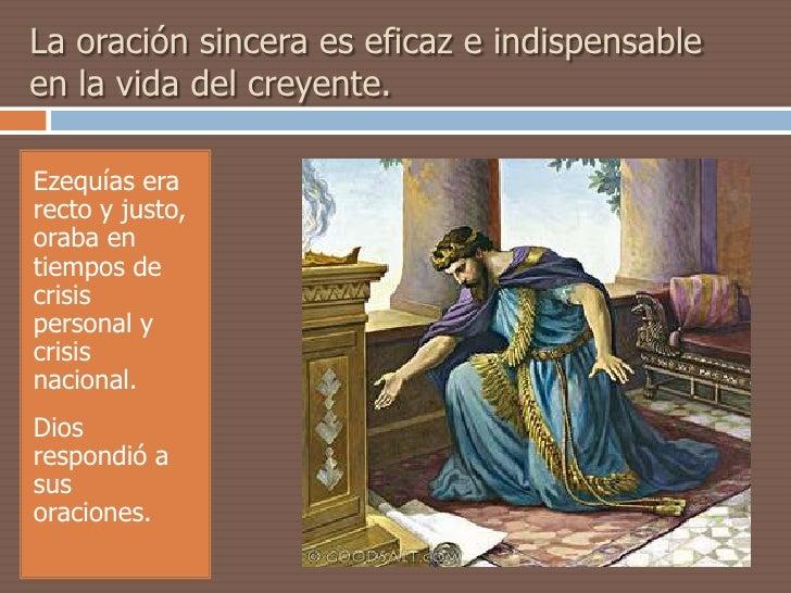 Resultado de imagen para oracion de Ezequías