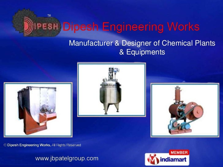 Manufacturer & Designer of Chemical Plants & Equipments<br />