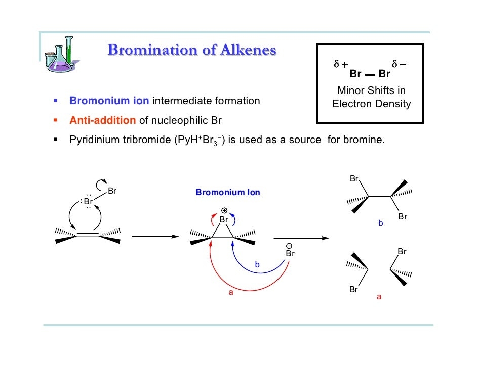 bromination of trans stilbene to form 1 if the bromination of trans-stilbene proceeded by syn addition what isomer of stilbene dibromide would be form? 2 if the bromination of trans.