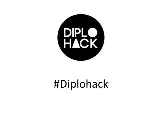 # #Diplohack
