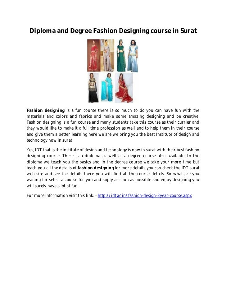 Fashion Design Course In Surat Gujarat