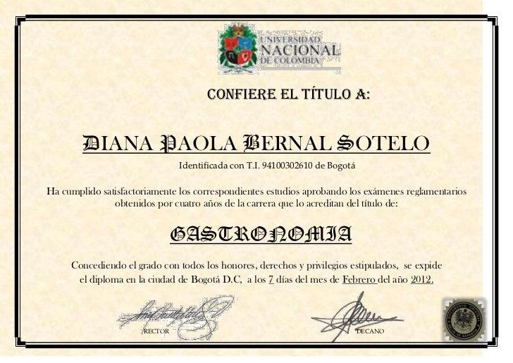 Diploma de gastronom a for Curso de gastronomia pdf
