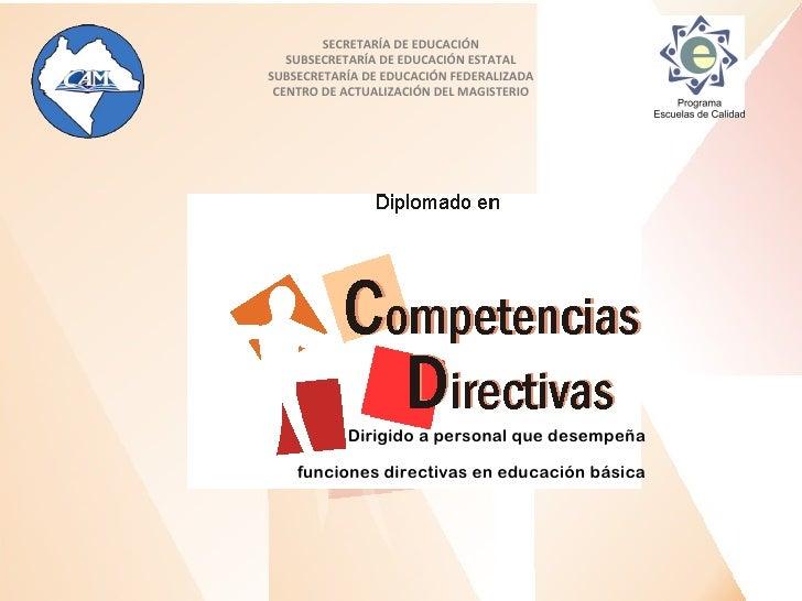 SECRETARÍA DE EDUCACIÓN   SUBSECRETARÍA DE EDUCACIÓN ESTATALSUBSECRETARÍA DE EDUCACIÓN FEDERALIZADA CENTRO DE ACTUALIZACIÓ...
