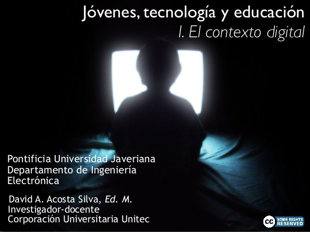 Jóvenes, tecnología y educación (1a)