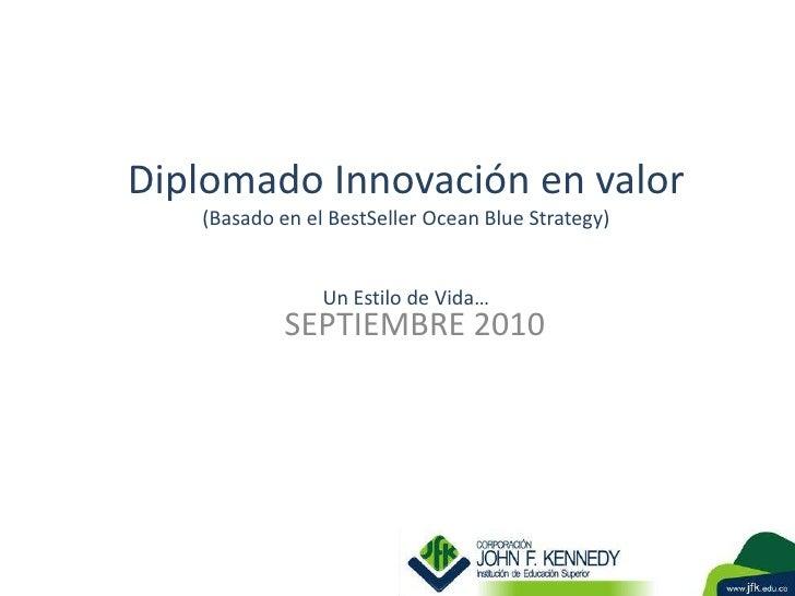 Diplomado innovacion en valor clase 3