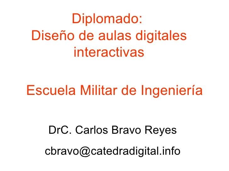 Diplomado en Diseño de aulas digitales